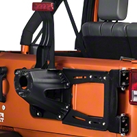 RedRock 4x4 Rear Hinged Tire Carrier (07-15 Wrangler JK) - RedRock 4x4 J100138