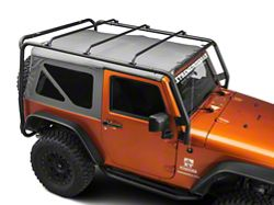 Barricade Roof Rack - Textured Black (07-16 Wrangler JK 2 Door)