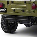 RedRock 4x4 Hitch - Textured Black (87-06 Wrangler YJ & TJ) - RedRock 4x4 J100179