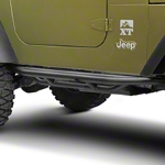 RedRock 4x4 Side Armor - Textured Black (87-06 Wrangler YJ & TJ) - RedRock 4x4 J100183