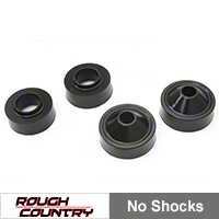 Rough Country 1.75in. Spacer Lift Kit, No Shocks (07-13 Wrangler JK) - Rough Country 651