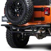 RedRock 4x4 Rock Crawler Rear Bumper - Textured Black (07-15 Wrangler JK) - RedRock 4x4 J100190