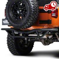 RedRock 4x4 Rock Crawler Rear Bumper - Textured Black (07-16 Wrangler JK) - RedRock 4x4 J100190