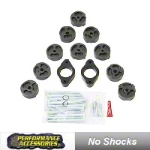 Performance Accessories 1 in. Body Lift Kit (07-13 Wrangler JK) - Performance Accessories 991