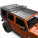 Off Camber Fabrications by MBRP Roof Rack System (11-16 Wrangler JK 4 Door) - Off Camber Fabrications by MBRP 131894