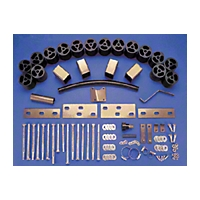 Performance Accessories 1 In. Body Lift Kit - Manual (87-95 Wrangler YJ) - Performance Accessories 931