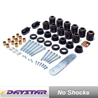 Daystar 1 in. Body Lift Kit for 4WD (97-06 Wrangler TJ) - Daystar KJ04508BK
