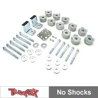 Teraflex 1 in. Body Lift Kit w/o Shocks (97-06 Wrangler TJ) - Teraflex 1942100