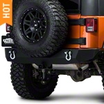 Barricade Trail Force HD Rear Bumper (07-15 Wrangler JK) - Barricade J100291