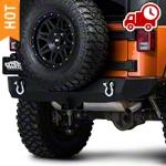 Barricade Trail Force HD Rear Bumper (07-16 Wrangler JK) - Barricade J100291