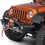 Barricade Trail Force HD Front Bumper with LED Lights (07-15 Wrangler JK) - Barricade J100292