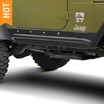 Barricade Rocker Guard with Step (97-06 Wrangler TJ) - Barricade J100294