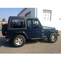 Rally Tops 1-Piece Hardtop for Full Doors (97-06 Wrangler TJ) - Rally Tops XTR-WRANGLERTJFD1