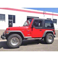 Rally Tops 1-Piece Hardtop for Half Doors (97-06 Wrangler TJ) - Rally Tops XTR-WRANGLERTJHD1