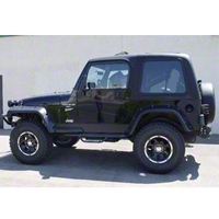 Rally Tops 2-Piece Hardtop for Full Doors (97-06 Wrangler TJ) - Rally Tops XTR-WRANGLERTJFD2