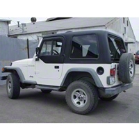 Rally Tops 2-Piece Hardtop for Half Doors (97-06 Wrangler TJ) - Rally Tops XTR-WRANGLERTJHD2