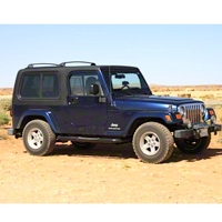Rally Tops 1-Piece Hardtop For Full Doors (04-06 Wrangler TJ Unlimited) - Rally Tops XTR-WRANGLERTJUNL1