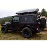 Rally Tops 2-Piece Hardtop For Full Doors (04-06 Wrangler TJ Unlimited) - Rally Tops XTR-WRANGLERTJUNL2
