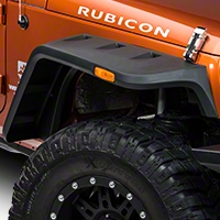 Rugged Ridge Hurricane Flat Fender Flares (07-15 Wrangler JK) - Rugged Ridge 11640.10