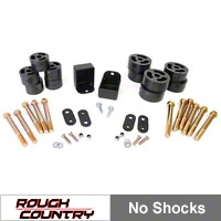 Rough Country 1.25 In. Body Lift Kit (87-95 Wrangler YJ w/Manual Trans) - Rough Country RC608