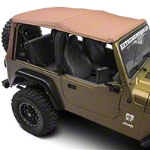Barricade Replacement Soft Top w/tinted windows for full doors - Spice (97-06 Wrangler TJ) - Barricade J100493