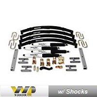 Warrior Products 1.5 In. Suspension Lift Kit (87-95 Wrangler YJ) - Warrior Products 30615