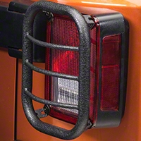 RedRock 4x4 Tail Light Guard - Textured Black (07-14 Wrangler JK) - RedRock 4x4 J100572