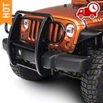 RedRock 4x4 Grille Guard - Gloss Black (07-16 Wrangler JK) - RedRock 4x4 J100580