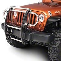 RedRock 4x4 Grille Guard - Stainless Steel (07-14 Wrangler JK) - RedRock 4x4 J100581