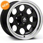 Mammoth 8 Black Wheel - 15x8 (87-06 Wrangler YJ & TJ) - Mammoth J100600