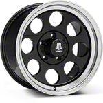 Mammoth 8 Black Wheel - 17x9 (07-15 Wrangler JK) - Mammoth J100603