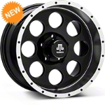 Mammoth 8 Beadlock Wheel, Black - 17x9 (07-14 Wrangler JK) - Mammoth J100609