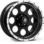 Mammoth 8 Beadlock Black Wheel - 17x9 (07-14 Wrangler JK) - Mammoth J100609