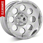 Mammoth 8 Beadlock Style Polished Wheel - 15x8 (87-06 Wrangler YJ & TJ) - Mammoth J100610