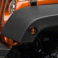 Barricade Side Marker Guard - Black (07-16 Wrangler JK) - Barricade J100765