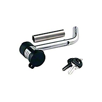 Master Lock 1/2 In.-5/8 In. Sleeved Bent Pin Swivel Head Hitch Pin (Universal Application) - Master Lock 2866DAT