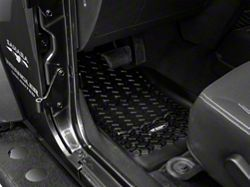 Rugged Ridge All Terrain Front Floor Liners - Black (14-16 Wrangler JK)