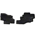 Husky Rear Floor Liner Black (87-90 Wrangler YJ) - Husky 60301