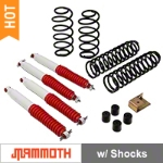Mammoth 3 in. Extreme Duty Lift Kit w/ Shocks (97-06 Wrangler TJ) - Mammoth J100851
