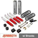Mammoth 3.5 in. Extreme Duty Lift Kit w/ Shocks (07-15 Wrangler JK 4 Door) - Mammoth J100854