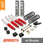 Mammoth 3.5 in. Extreme Duty Lift Kit w/ Shocks (07-16 Wrangler JK 4 Door) - Mammoth J100854