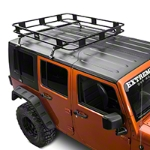 Surco Safari Removable Hard Top Rack w/Basket (07-14 Wrangler JK) - Surco KIT