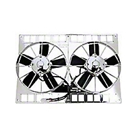 Be Cool 11 In. Electric Dual Puller Fans (Universal Application) - Be Cool 75037