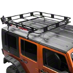 Surco Hi Lift Jack Carrier for Safari Rack (87-14 Wrangler YJ, TJ & JK) - Surco 1108