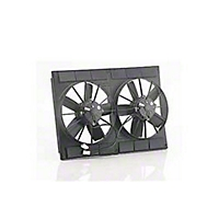 Be Cool 11 In. Electric Dual Pusher Fan (Universal Application) - Be Cool 75044