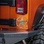XT Graphics Oscar Mike Star Decal, Small - Real Tree (87-14 Wrangler YJ, TJ & JK) - XT Graphics J100897