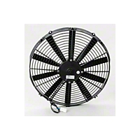 Be Cool 16 In. Electric Puller Fan for Black plastic (Universal Application) - Be Cool 75058