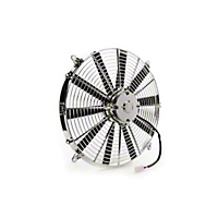 Be Cool 16 In. Electric Puller Fan for Chrome plastic (Universal Application) - Be Cool 75033