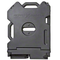 Rotopax Black Interlocking storage can (87-16 Wrangler YJ, TJ & JK) - Rotopax RX-2S