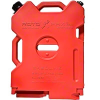 Rotopax 2 Gallon Red Interlocking Fuel Can (87-14 Wrangler YJ, TJ & JK) - Rotopax RX-2G